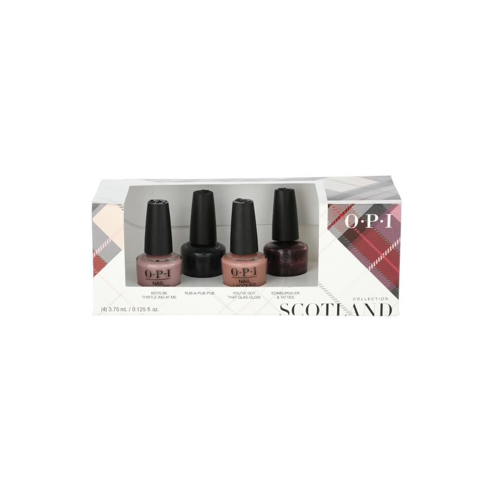 Set De Mini Esmaltes Opi Scotland / 4 Unidades image number 0.0