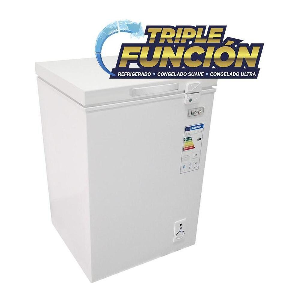 Freezer Horizontal Libero Lfh-100 Triple Función / Frío Directo / 100 Litros image number 4.0