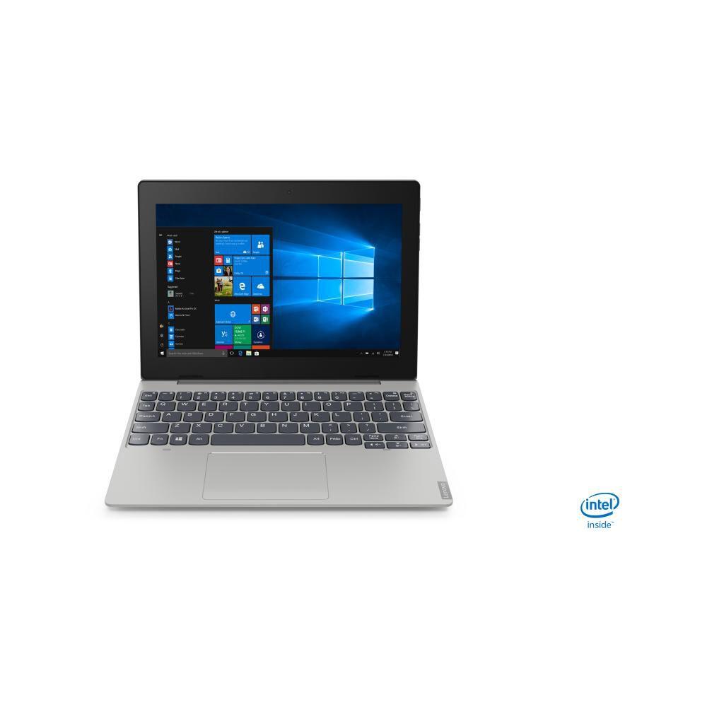 "Notebook Lenovo Ideapad D330 / Mineral Grey / Intel Celeron / 4 Gb Ram / Integrated Intel Uhd Graphics 600 / 64 Gb Ssd / 10.1"" image number 0.0"