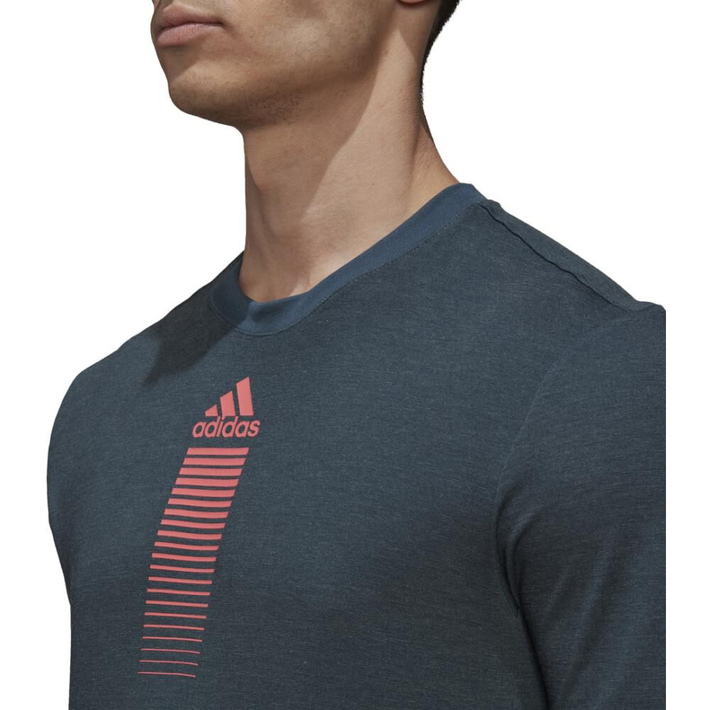 Polera Hombre Adidas Activated Tech image number 4.0
