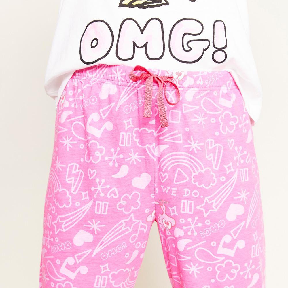 Pijama Capri Mujer Snoopy image number 4.0