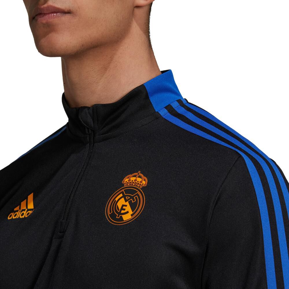 Polera Hombre Adidas Real Madrid Tiro image number 4.0