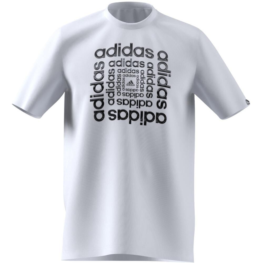 Polera Hombre Adidas M Hyperreal Dimension Tee image number 9.0