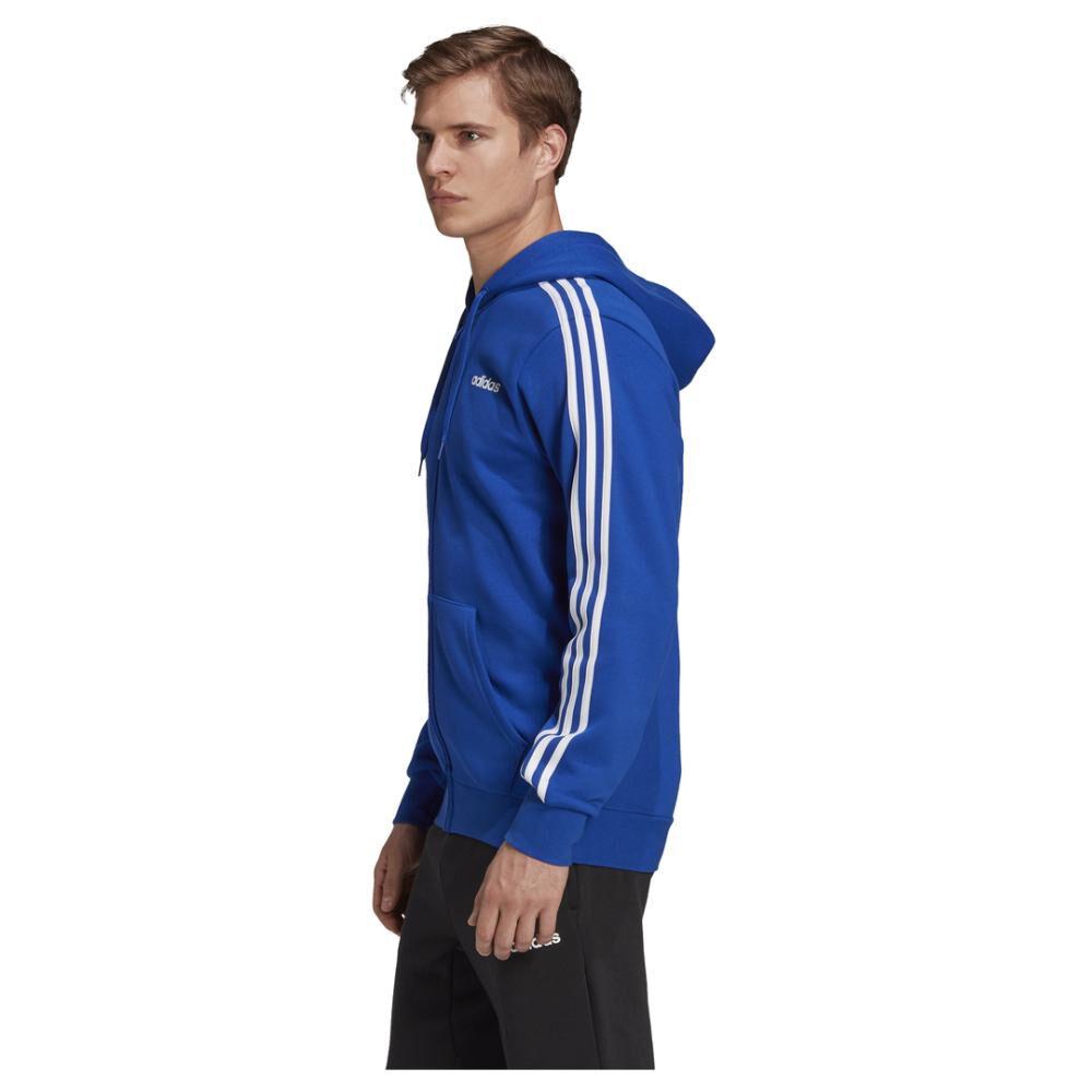 Polerón Hombre Adidas Essentials 3 Stripes image number 5.0