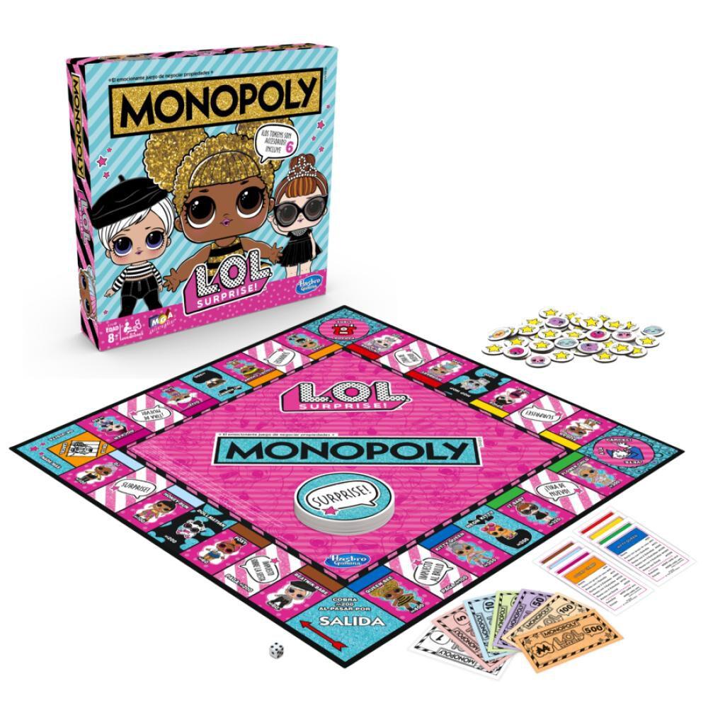 Juegos Familiares Monopoly L.o.l image number 2.0