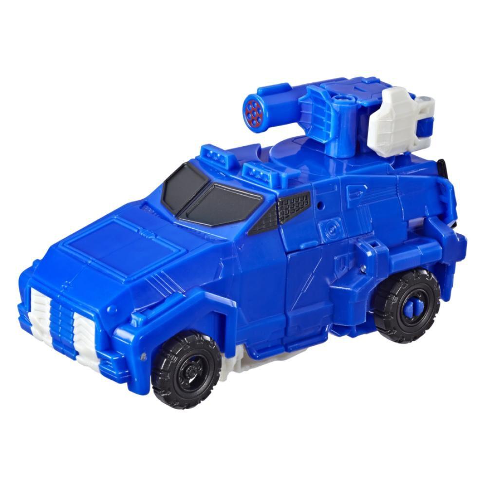 Figura De Accion Transformers Cyberverse Warrior Soundwave image number 5.0