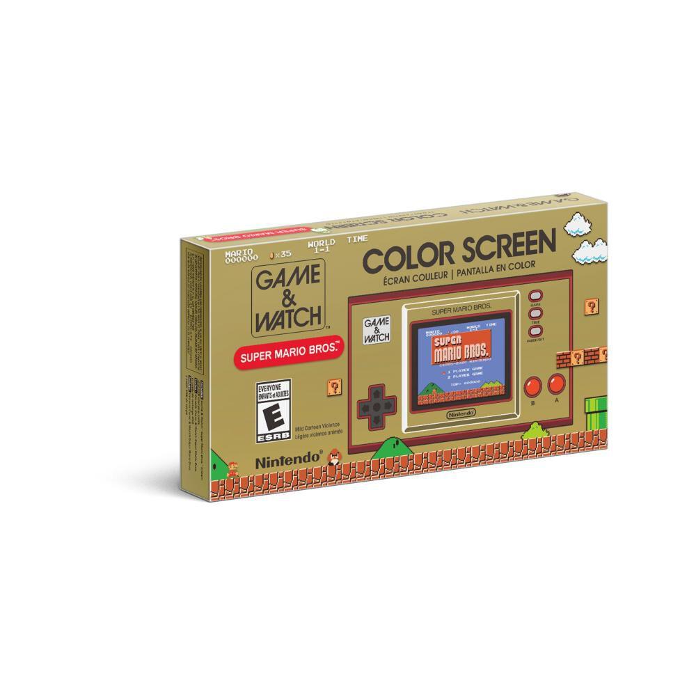 Mini Consola Game & Watch Super Mario Bros image number 1.0