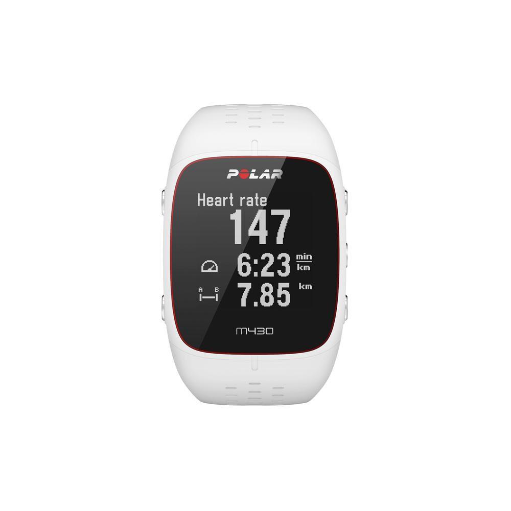 Smartwatch Polar M430  Blanco image number 0.0