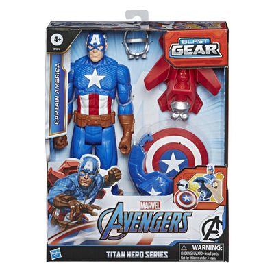 Figura De Accion Avenger Blast Gear Titan Ca
