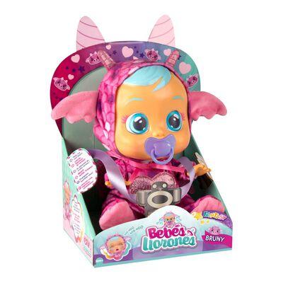 Muñeca Cry Babies Bebes Llorones Bruny