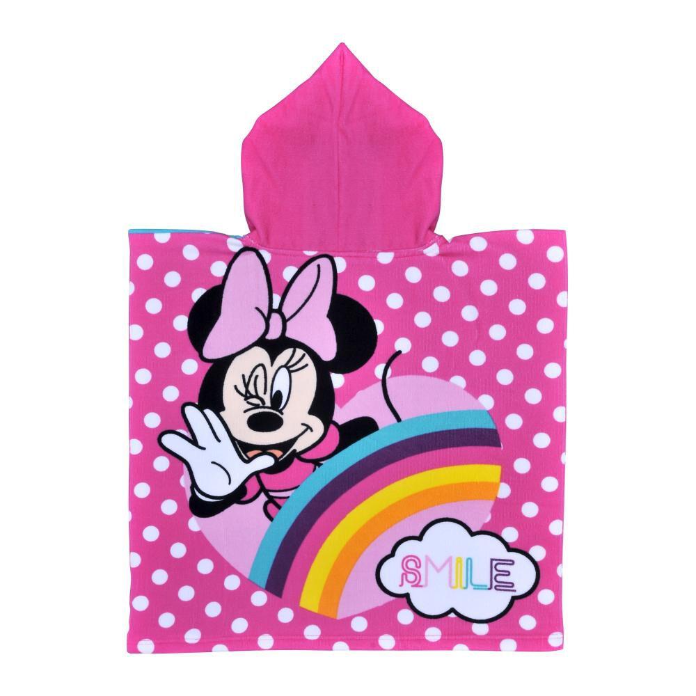 Toalla Playa Capucha Minnie Rainbow image number 0.0