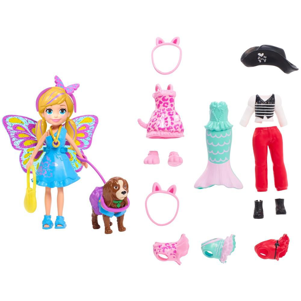 Accesorios Muñeca Polly Pocket Pack Disfraces image number 0.0