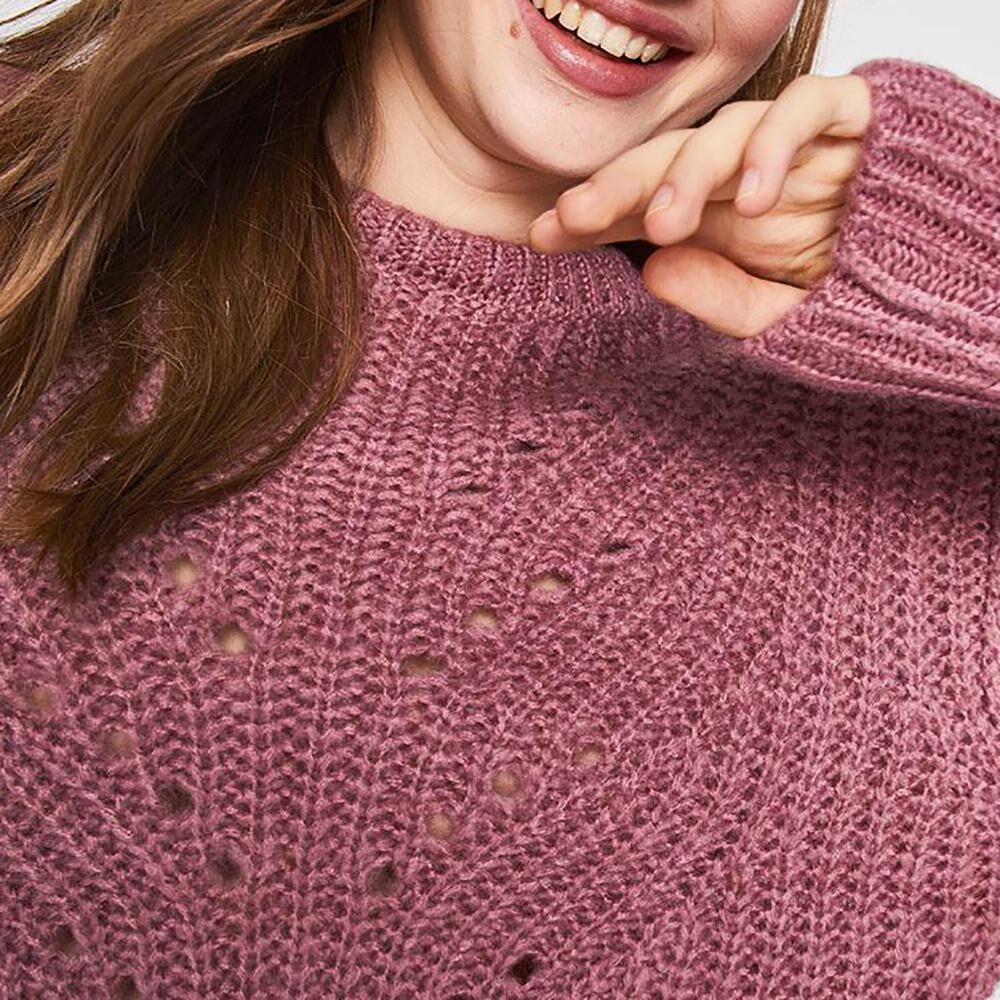 Sweater Tejido Corto Mujer Freedom image number 3.0