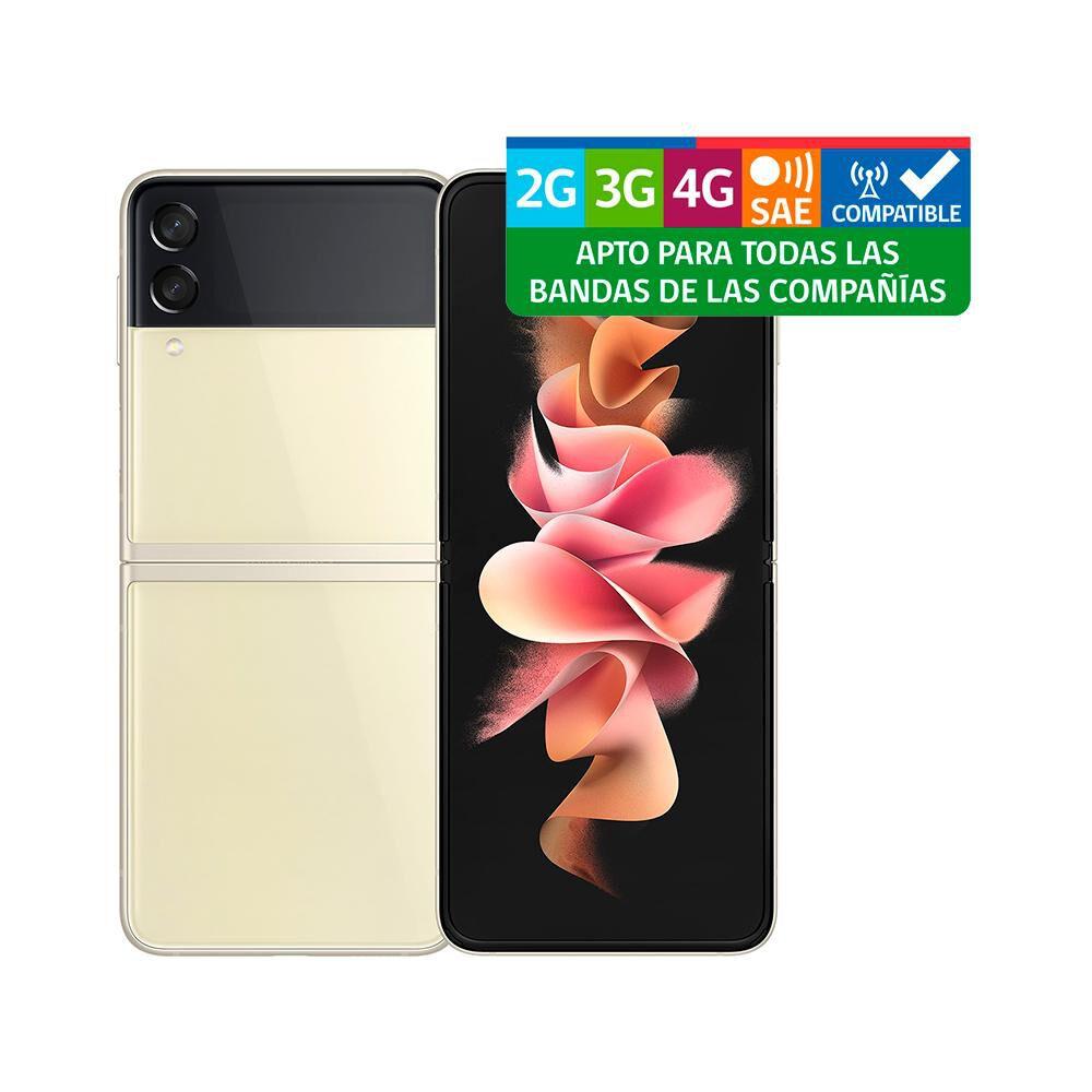 Smartphone Samsung Galaxy Z Flip 3 Crema / 128 Gb / Liberado image number 9.0