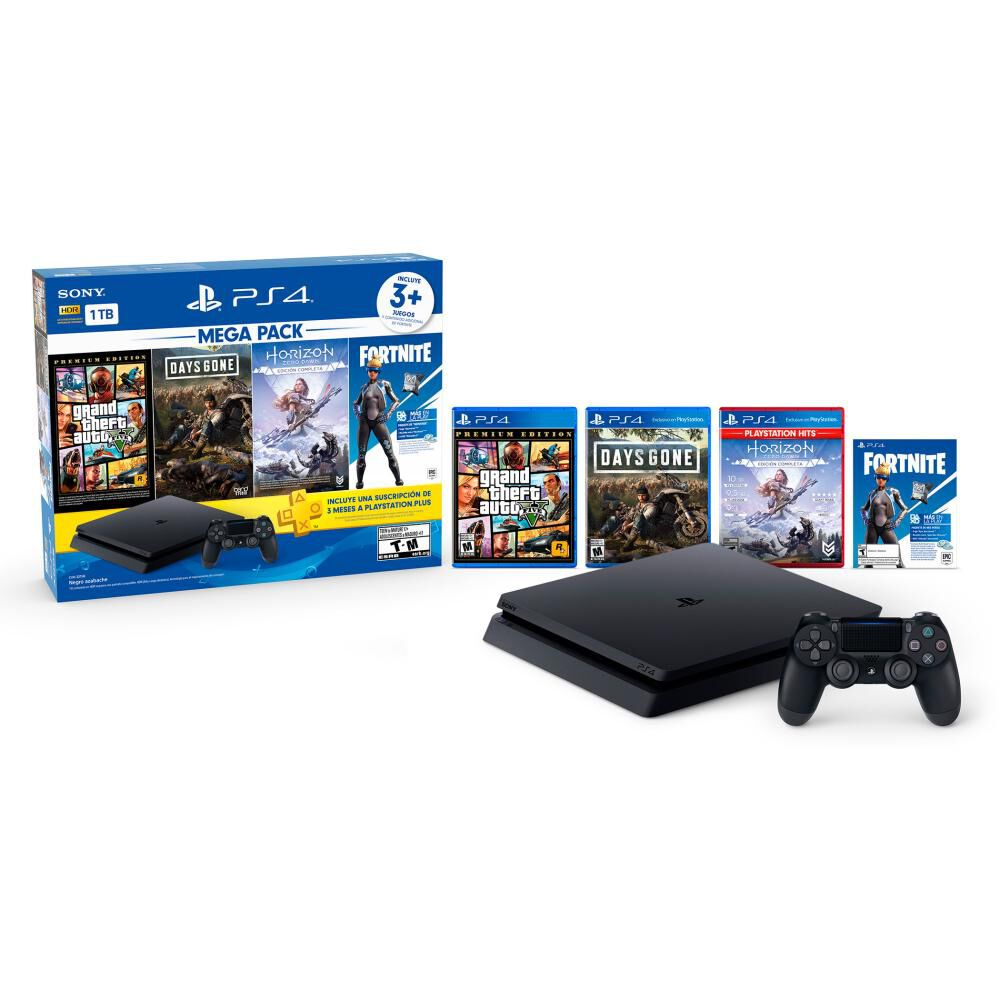 Consola PS4 Sony Mega Pack image number 0.0