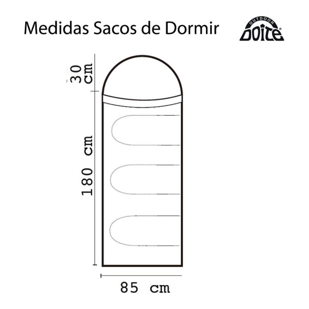 Saco De Dormir Doite Compass Plus image number 2.0
