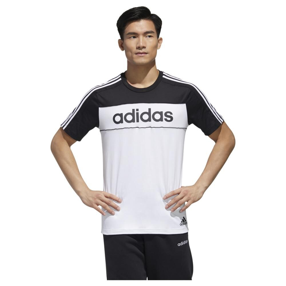 Polera Hombre Adidas Mens Essentials Tape T-shirt image number 0.0