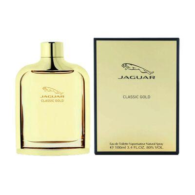 Perfume Hombre Classic Gold Jaguar / 100 Ml / Eau De Toillete