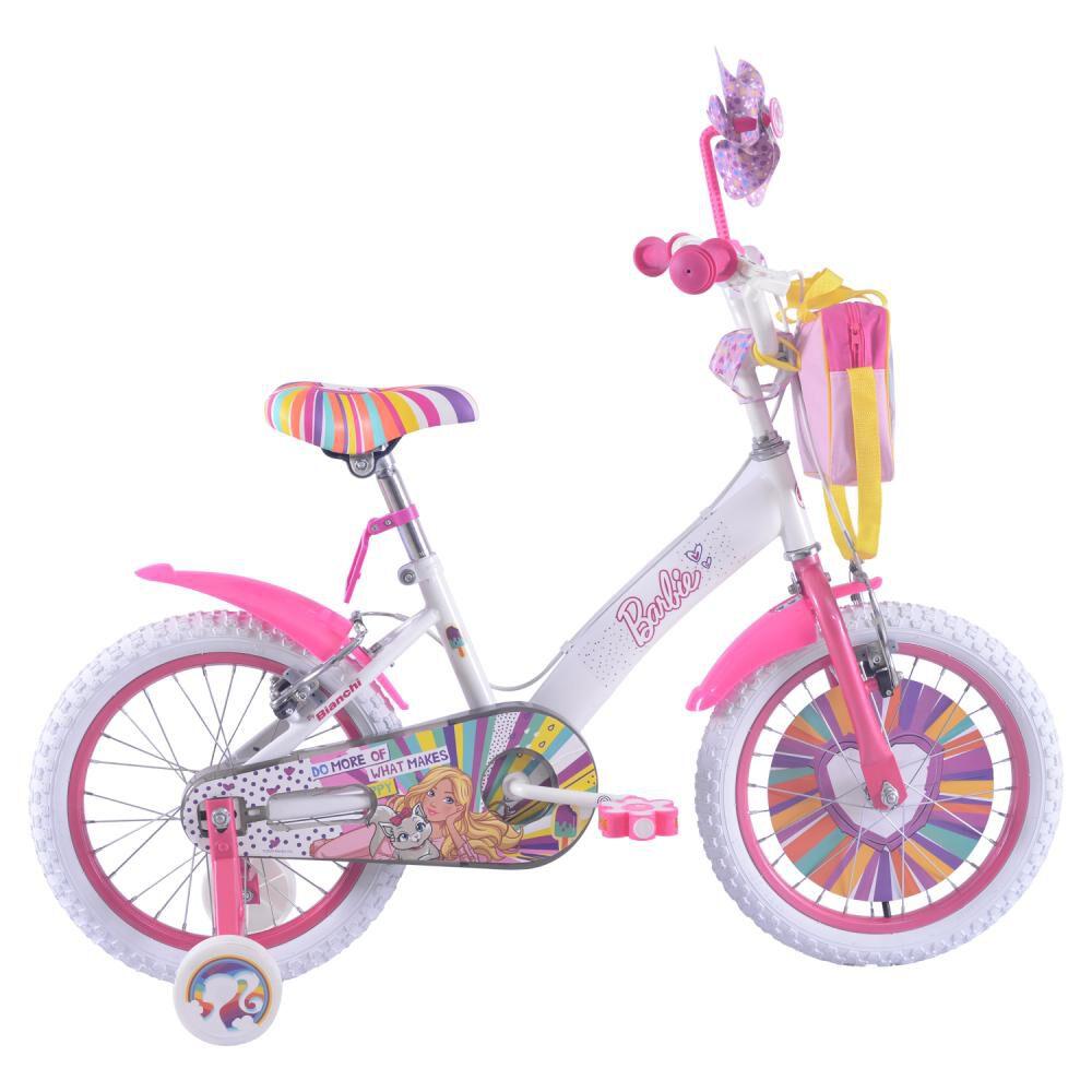Bicicleta Infantil Bianchi Barbie 16 / Aro 16 image number 0.0