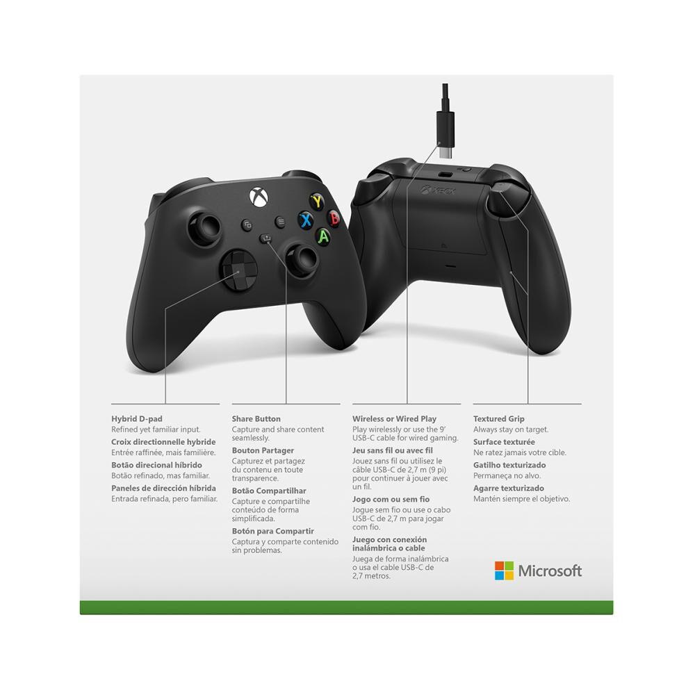 Control Inalámbrico Xbox + Cable Usb-c image number 4.0