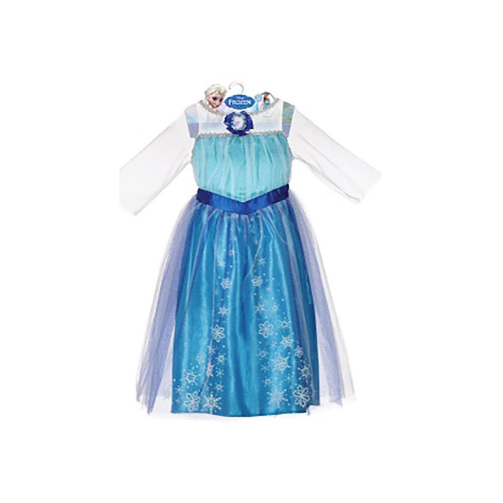 Disfraz Glam Frozen Elsa Talla 4/6 image number 0.0