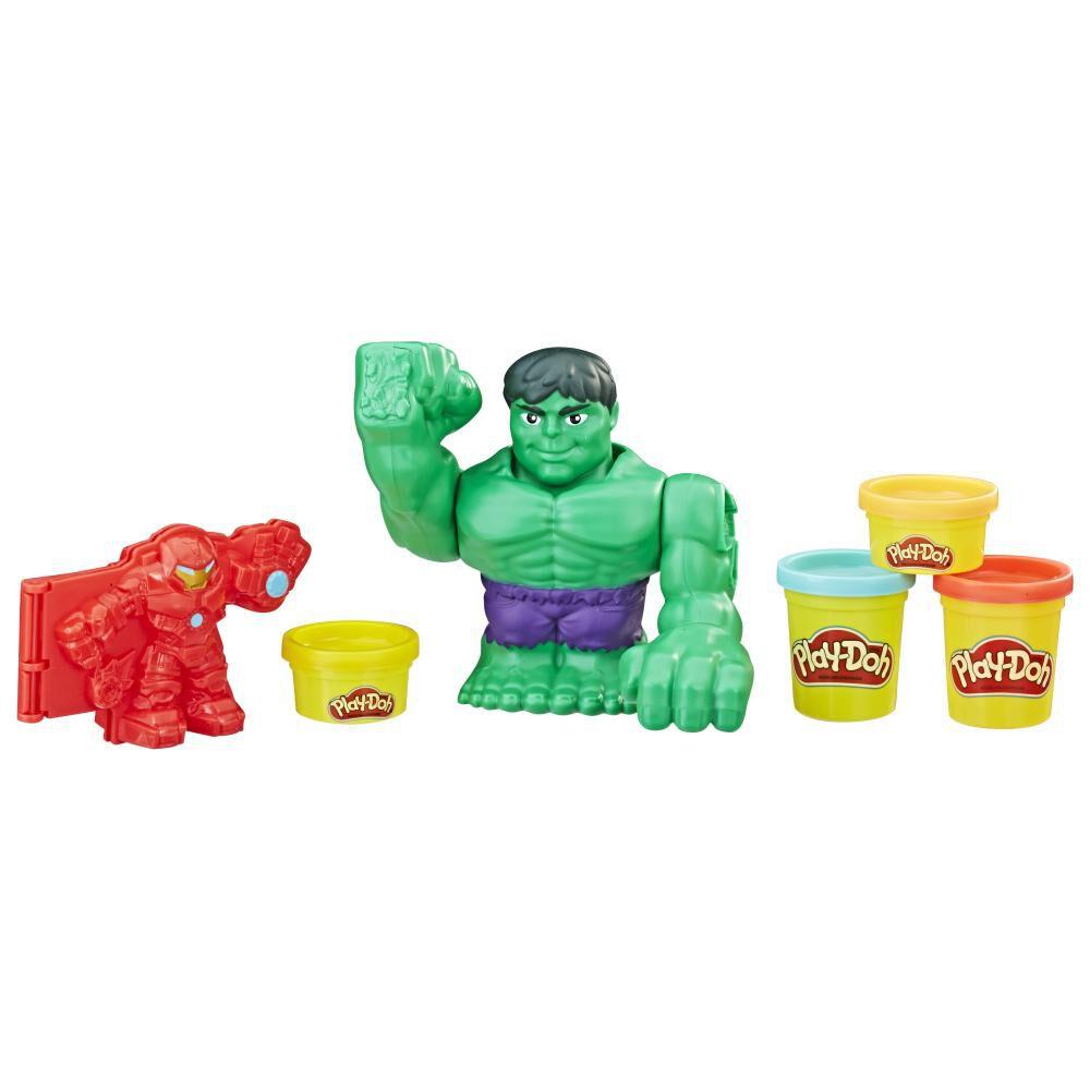 Masas Educativas Play Doh Mvl Hulkbuster Battle image number 1.0
