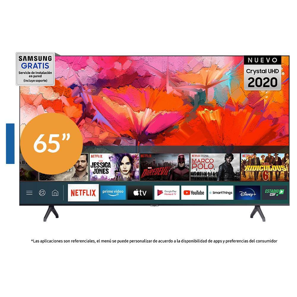 Led Samsung TU6900 / 65'' / Crystal UHD 4K / Smart Tv 2020 image number 0.0