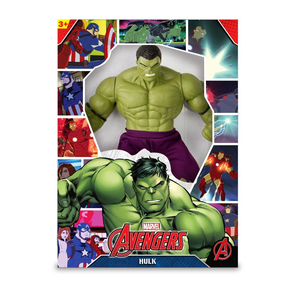 Figura De Acción Avenger Hulk Green Revolution image number 0.0