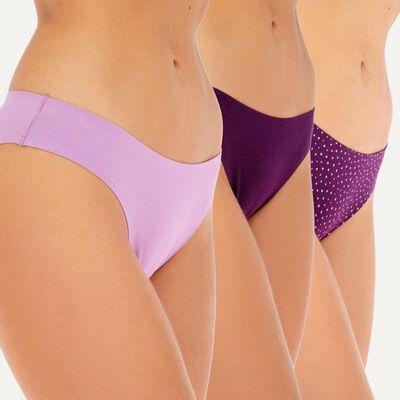 Pack Calzón Bikini Mujer Flores / 2 Unidades