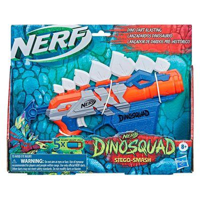 Lanzador De Dardos Nerf Dinosquad Stego-smash