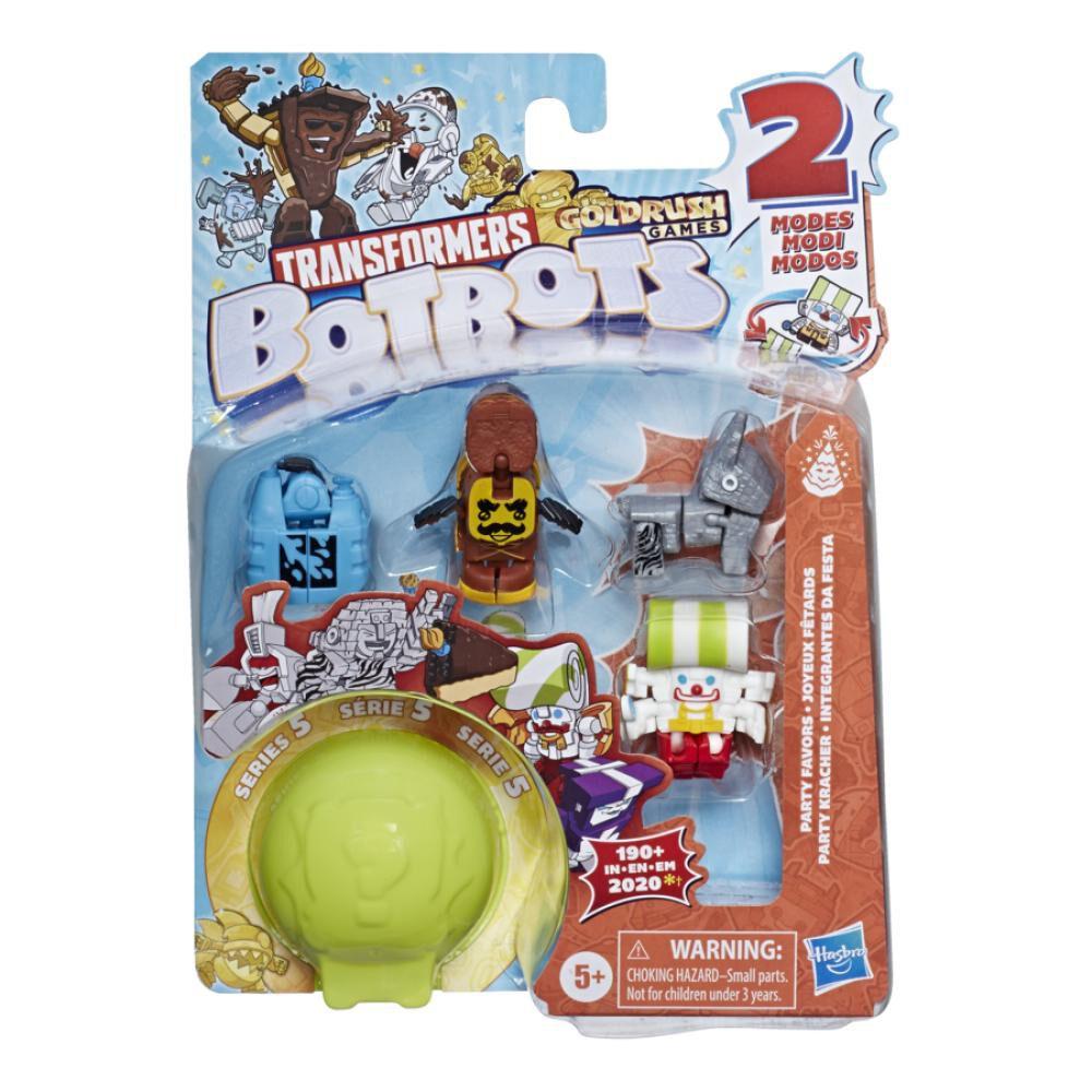 Figura De Accion Transformers Botbots 5pk Party Store image number 1.0