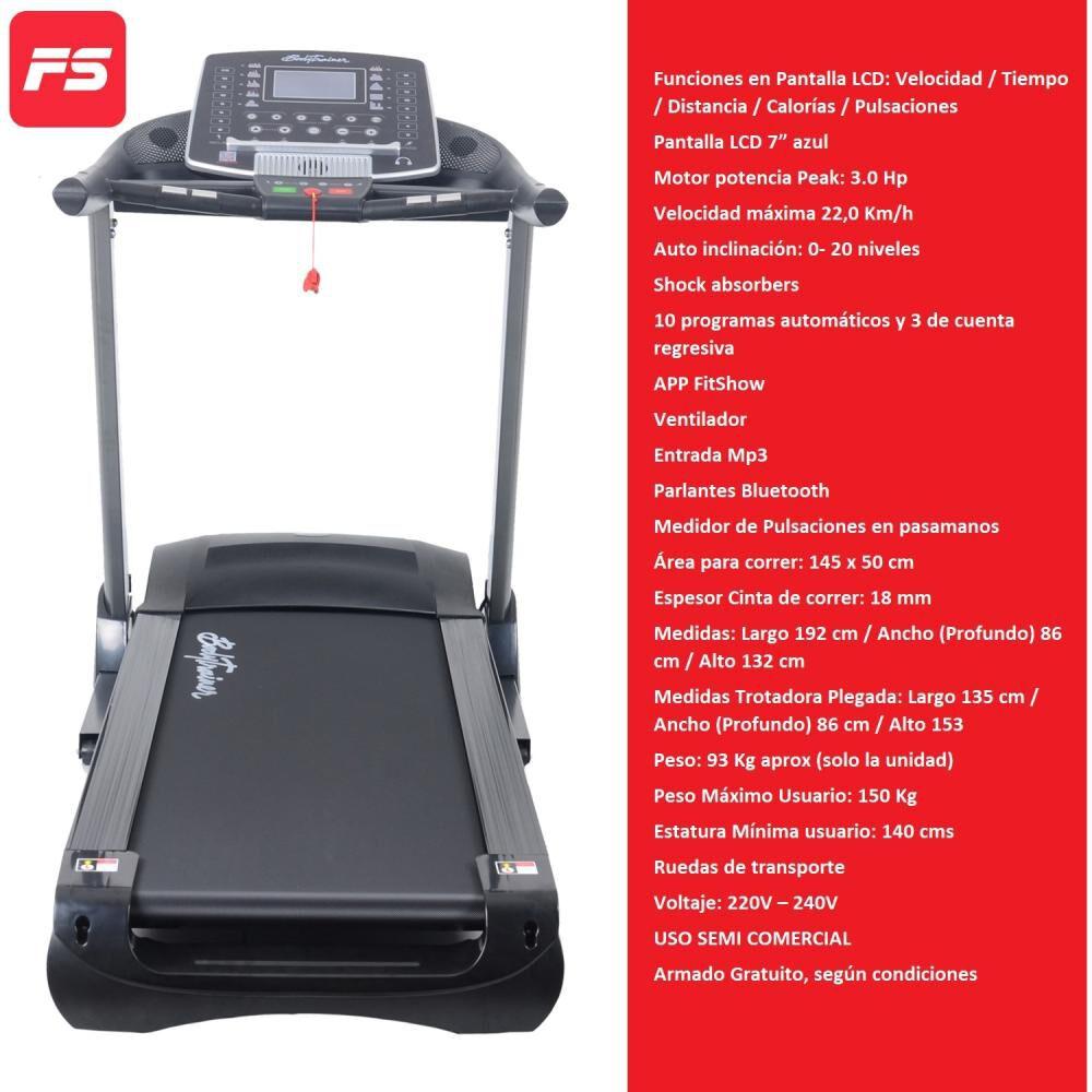 Trotadora Bodytrainer Runner Elt 800 image number 0.0