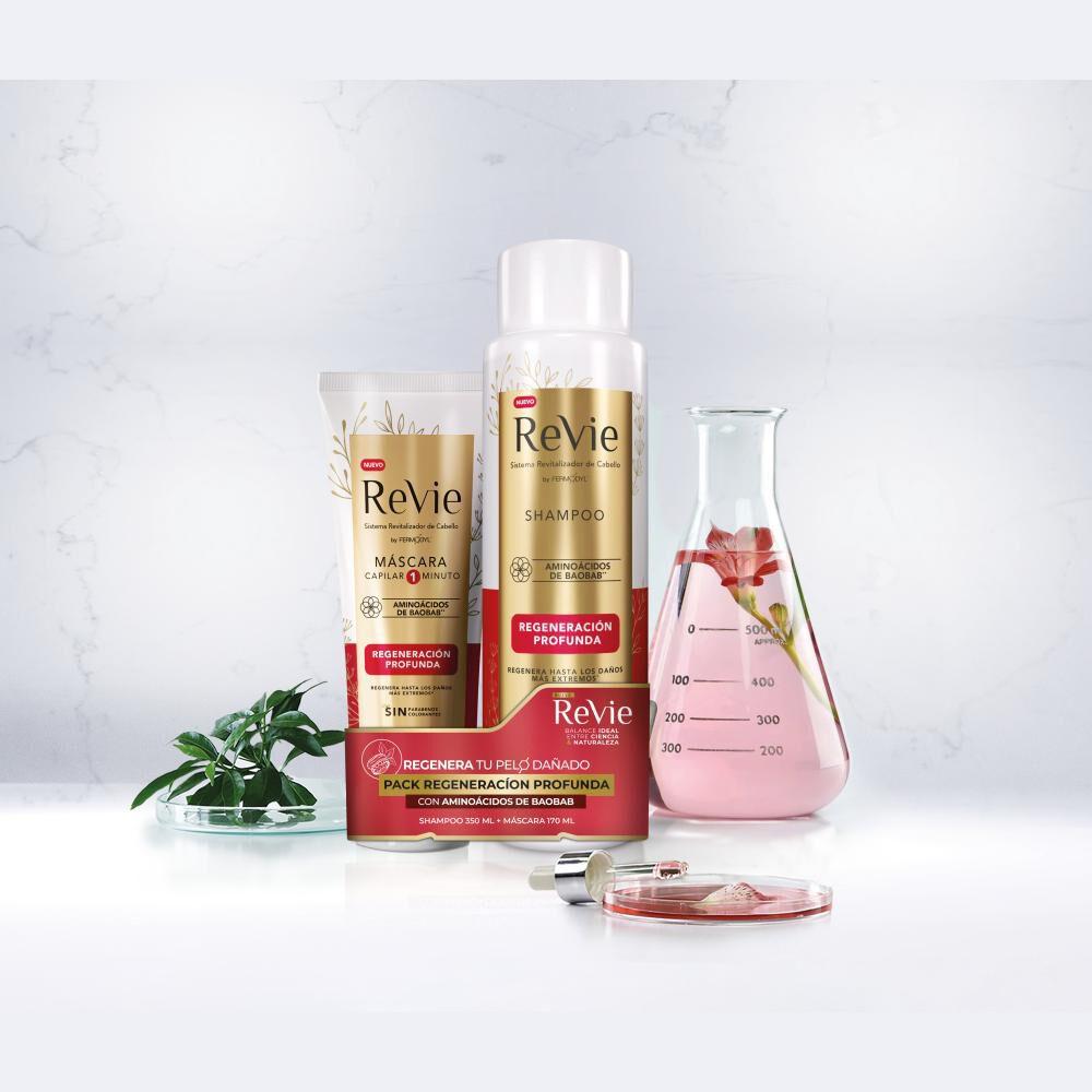 Pack Shampoo + Máscara Revie Regeneracion Profunda image number 1.0