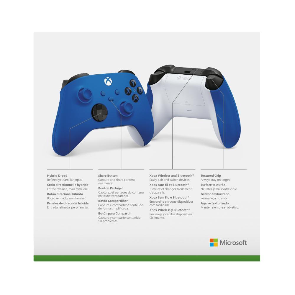 Control Inalámbrico Xbox Shock Blue image number 4.0
