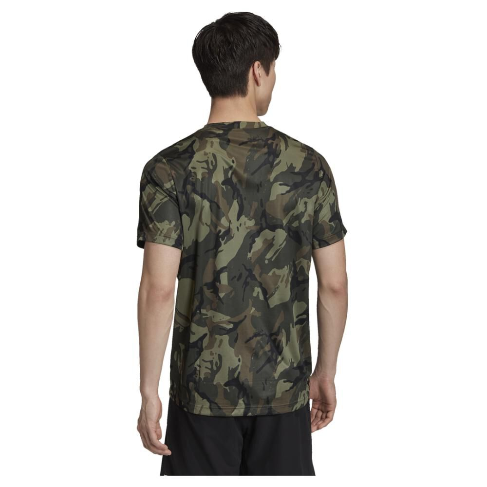 Polera Hombre Adidas Designed To Move image number 3.0