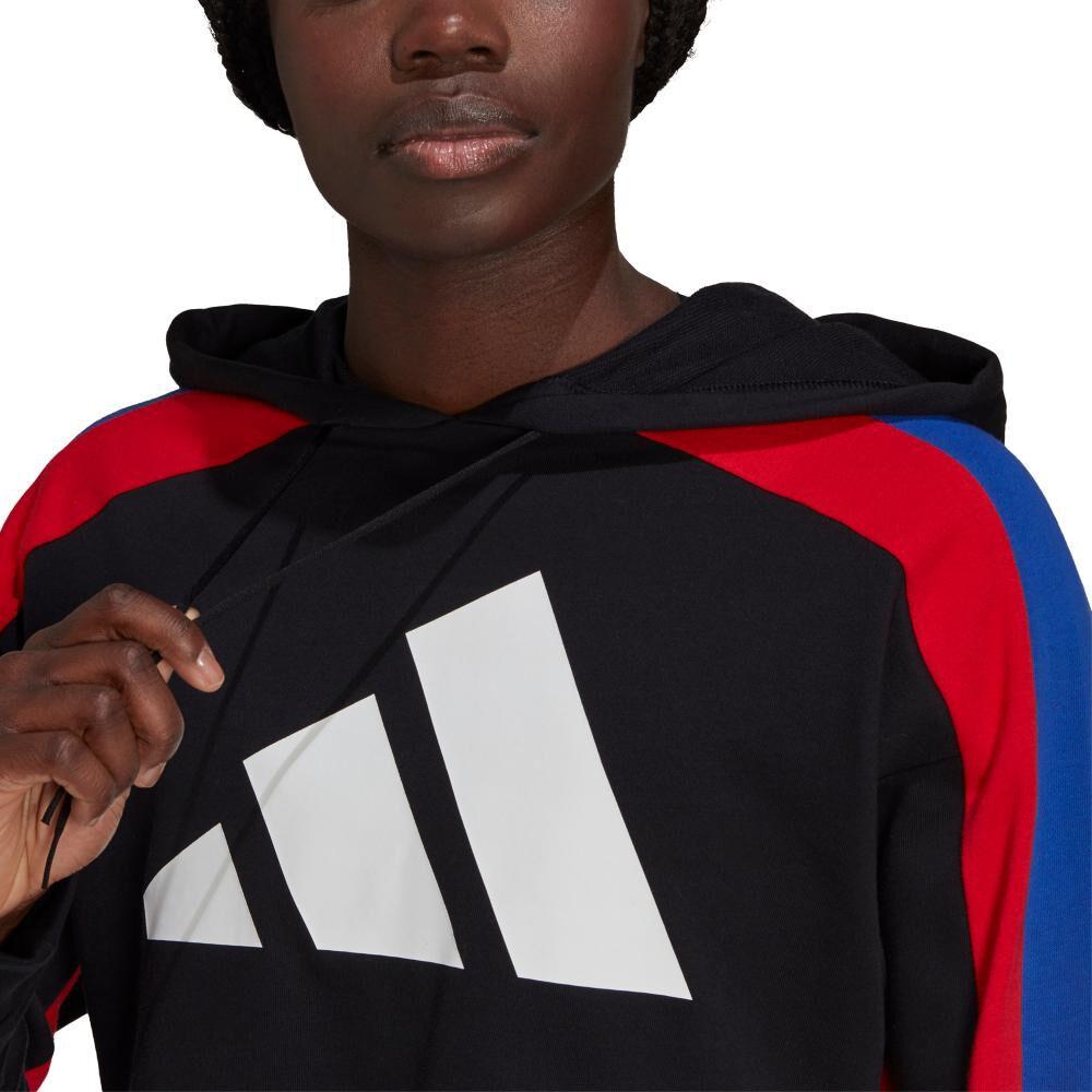 Buzo Mujer Adidas Sportswear Badge Of Sport Logo image number 4.0