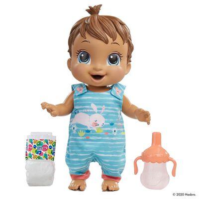 Muñeca Baby Alive Bebé Rebota (castaña)