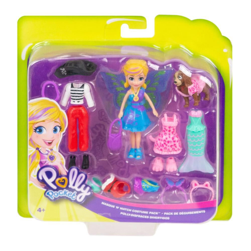 Accesorios Muñeca Polly Pocket Pack Disfraces image number 5.0
