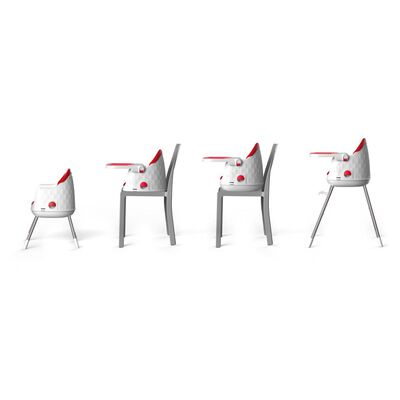Silla De Comer Safety Jelly Red