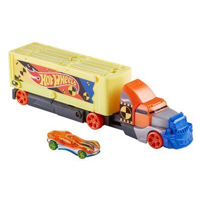 Hot Wheels Camión Choques Y Acrobacias