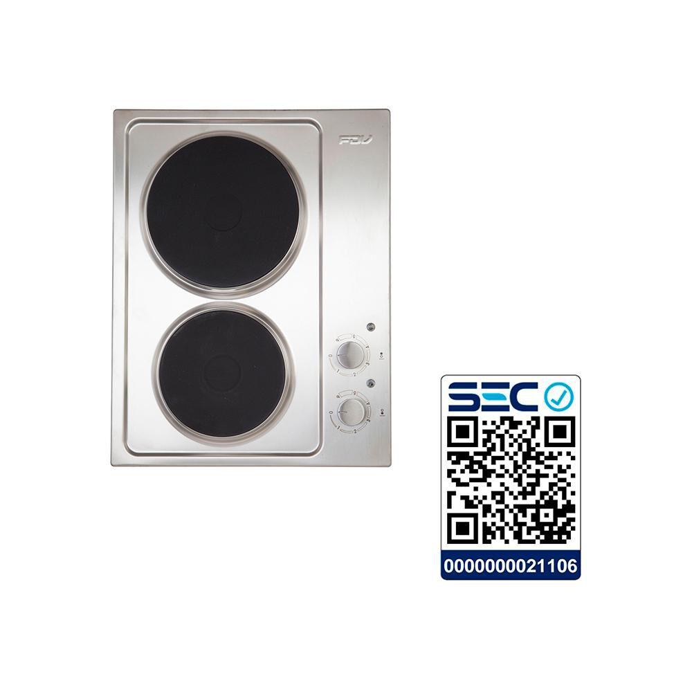 Encimera Eléctrica Convencional Fdv New 2p 50 / 2 Focos image number 4.0