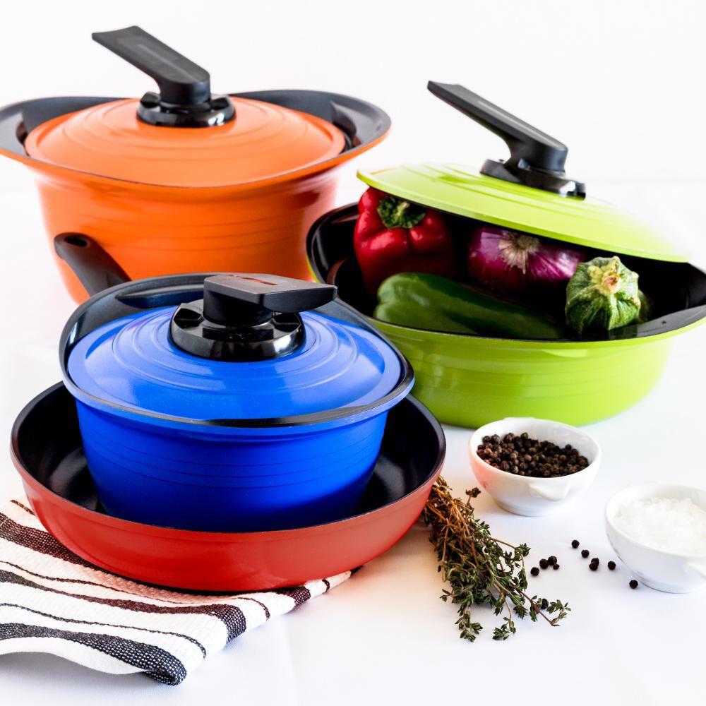 Bateria De Cocina Roichen Premium / 7 Piezas image number 0.0