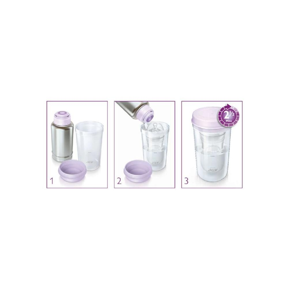 Termo Calienta Mamadera Philips Avent Scf256 image number 2.0