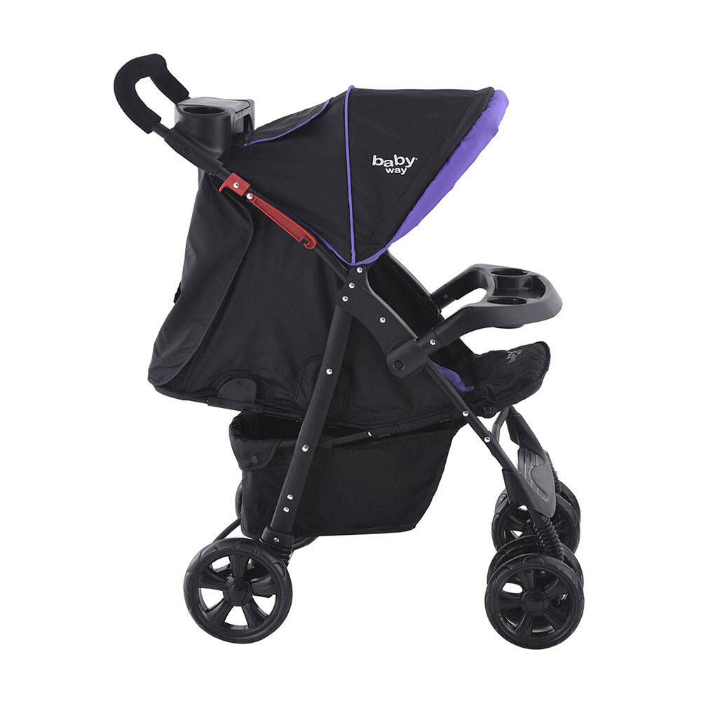 Coche Travel System Baby Way Bw-413M18 image number 3.0