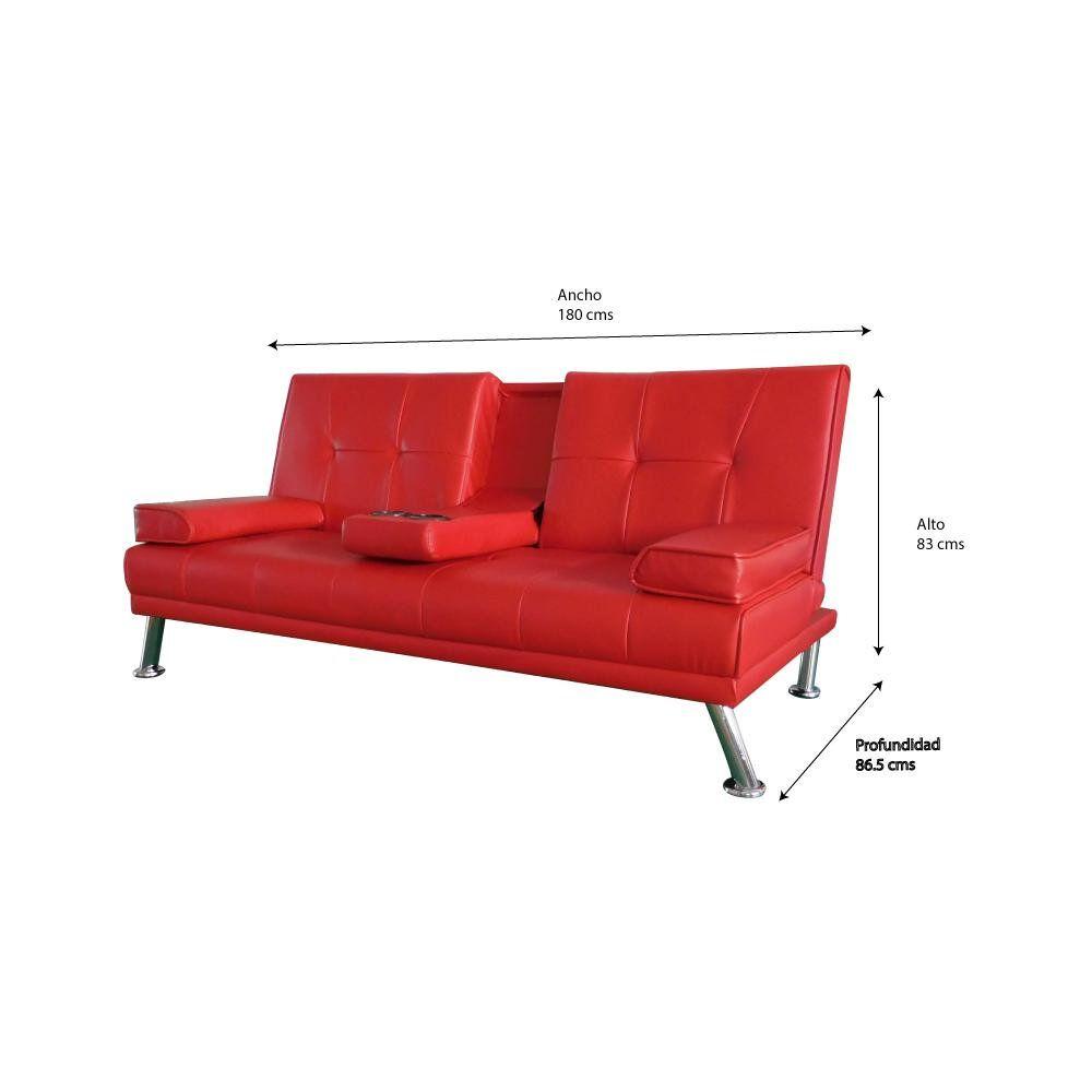 Futon Idetex Lounge / 3 Cuerpos image number 2.0