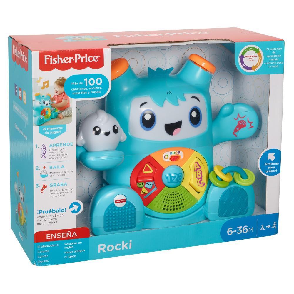 Fisher-price Infant Juguete Para Bebés Rocki, Juguete Para Bebé image number 1.0