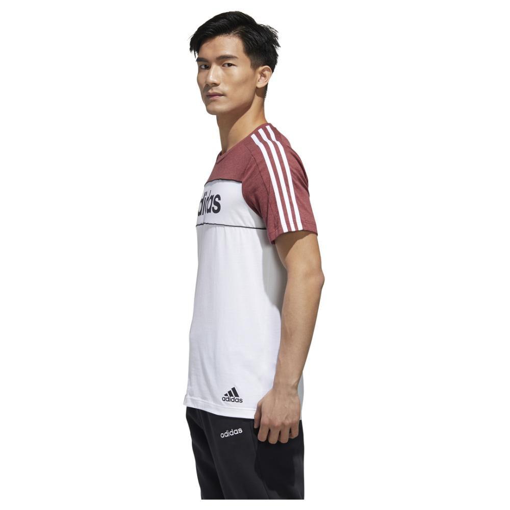 Polera Hombre Adidas Camiseta Essentials Tape image number 3.0