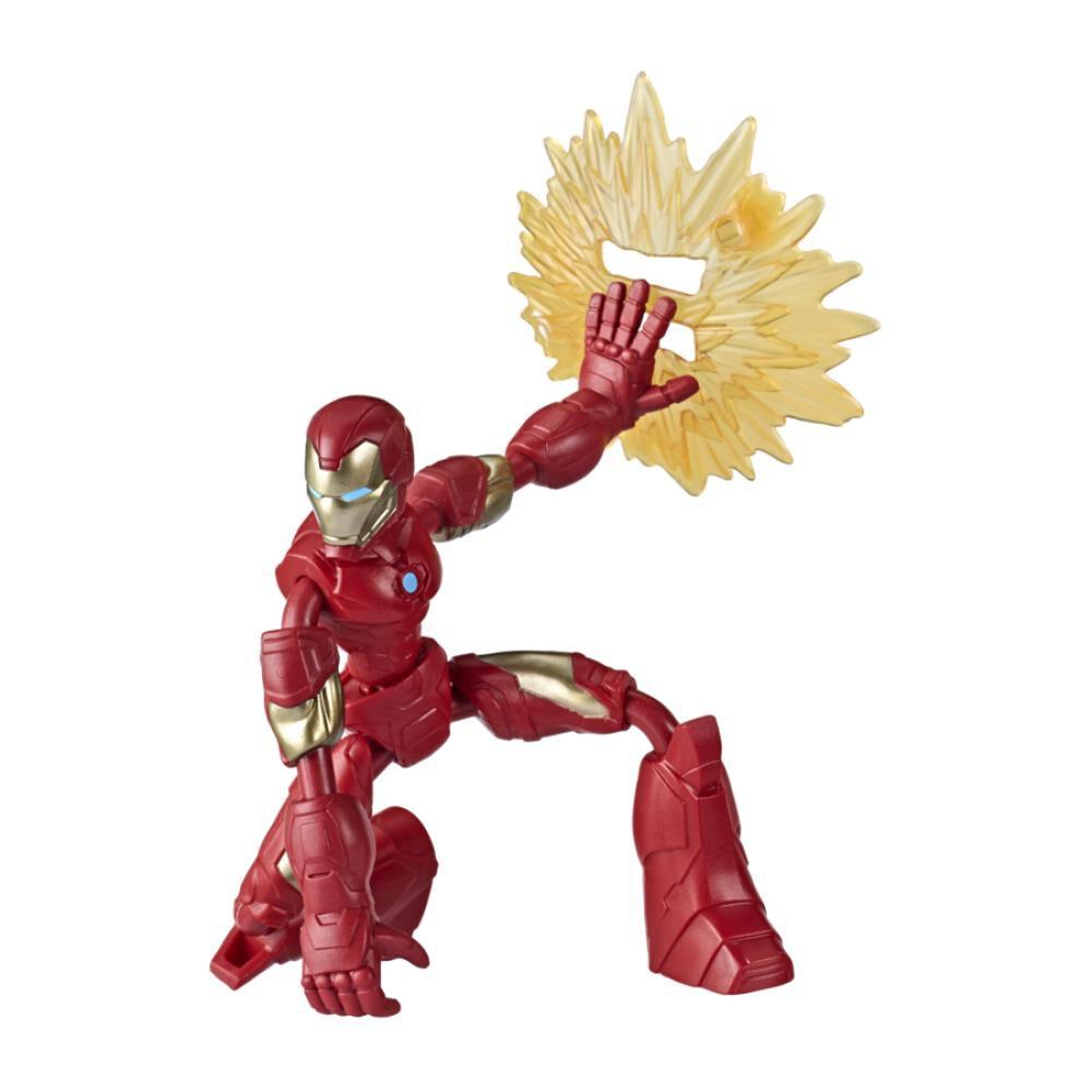 Figura De Accion Avenger Avn Bend And Flex Iron Man image number 0.0