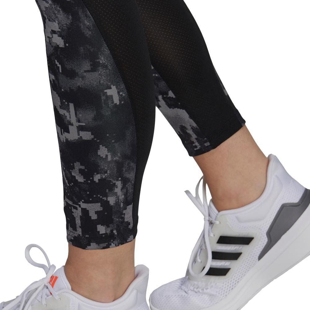 Calza Mujer Adidas Print 7/8 High Rise image number 4.0