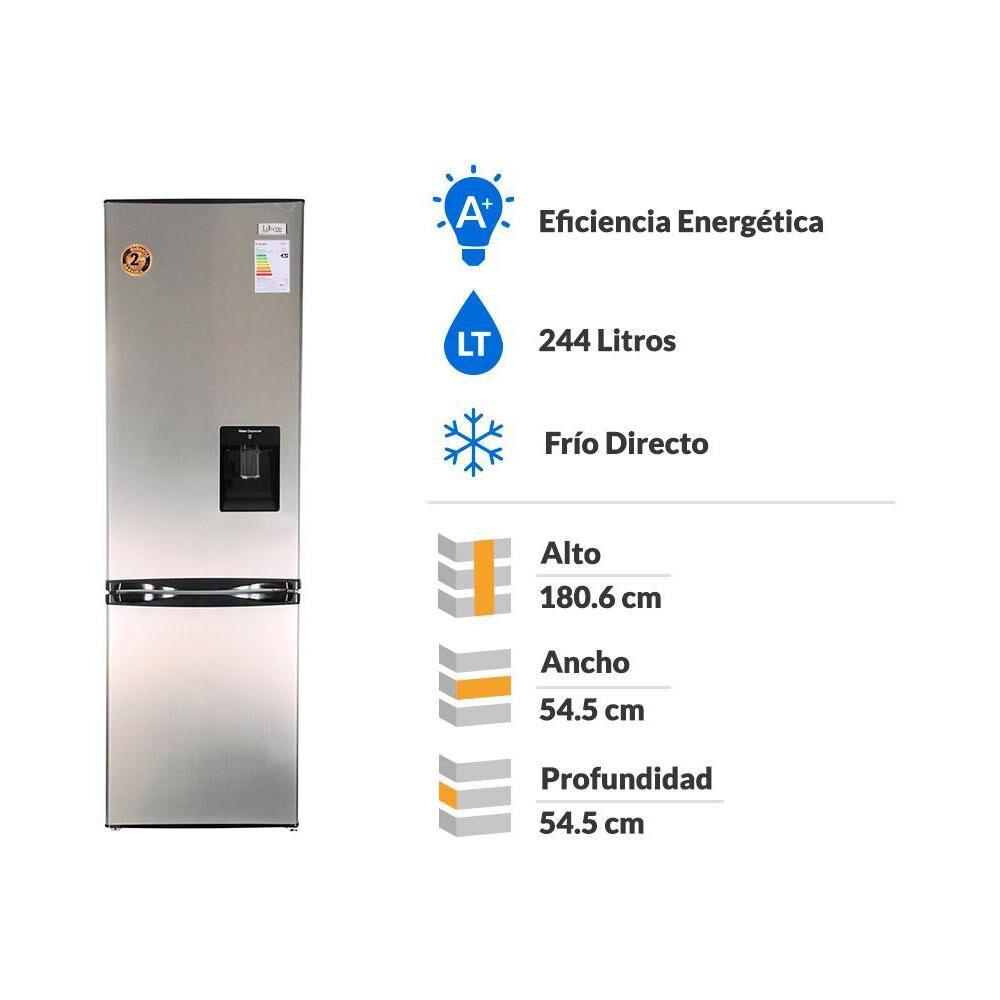 Refrigerador Bottom Freezer Libero LRB-270LW / Frío Directo / 244 Litros image number 1.0